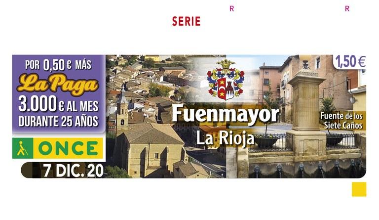 Presentación Cupón dedicado a Fuenmayor- La Rioja