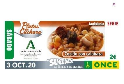 """Presentación del cupón de la colección """"Platos de Cuchara"""" -  COCIDO DE CALABAZA"""