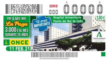 Cupón Hospital Universitario Puerta del Mar - Cádiz