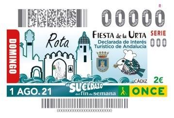 """Presentación cupón """"Fiesta de la Urta"""" de Rota."""