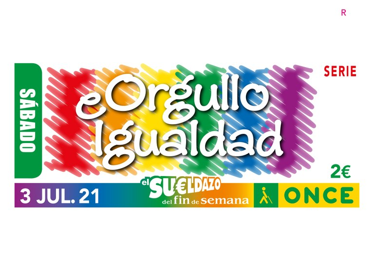 Presentación del cupón Día del Orgullo LGTBI.  Orgullo e Igualdad - DT Canarias