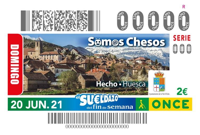 Presentación cupón dedicado a los Chesos, habitantes de Hecho (Huesca)