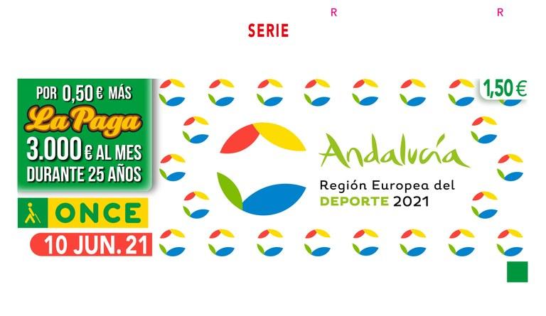 """Presentación del cupón dedicado a """"Andalucía Región Europea del Deporte"""""""