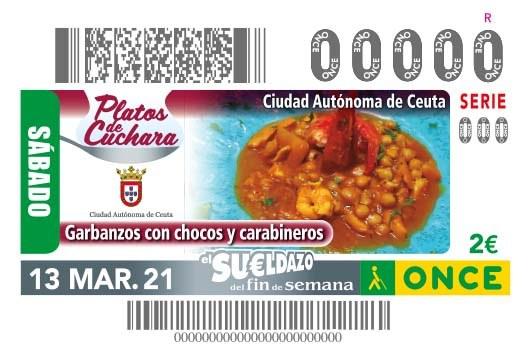 Presentación cupón Platos de Cuchara - Ceuta