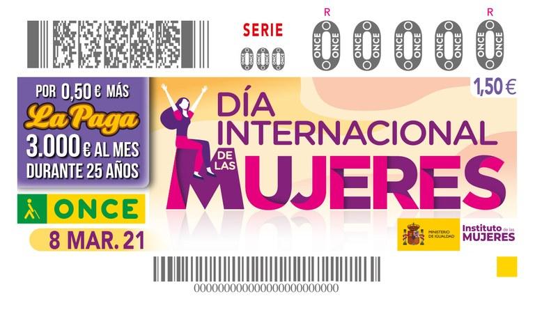 """Presentación del cupón dedicado al """"Día Internacional de las Mujeres"""" en Sevilla"""