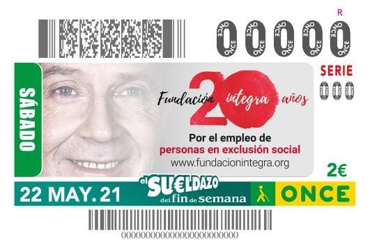 Presentación cupón 20 Aniversario Fundación Integra