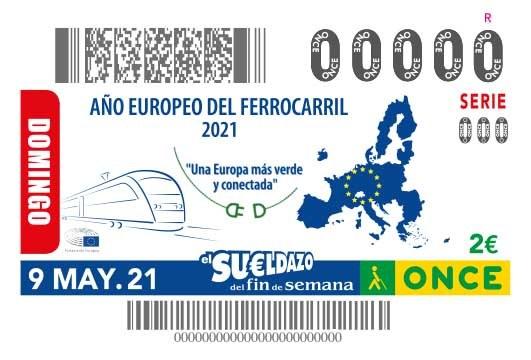 """Presentación cupón dedicado al """"Año Europeo del Ferrocarril 2021"""""""