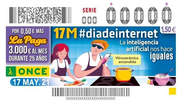 """Presentación cupón """"17M #día internet"""""""