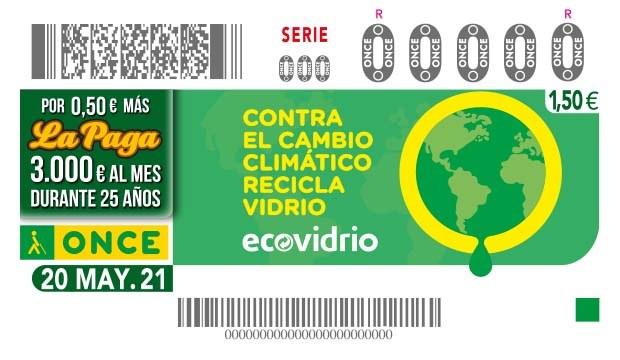 Presentación cupón en apoyo al reciclaje de vidrio -  ECOVIDRIO