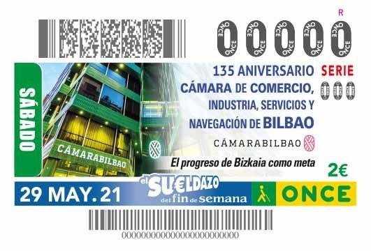 Presentación del cupón dedicado al 135º aniversario de la Cámara de Bilbao