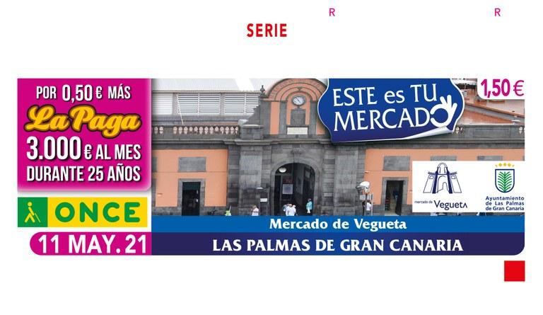 """Presentación del Cupón dedicado al """"Mercado de Vegueta"""" (Las Palmas de G.C.)"""