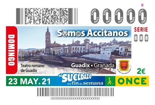 """Presentación del cupón gentilicio Guadix (Granada) - """"Somos accitanos"""""""