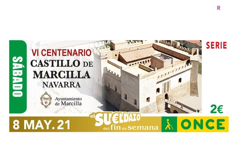 """Presentación del cupón """"IV Centenario del Castillo de Marcilla"""" Navarra"""