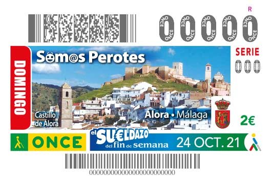 "Presentación cupón dedicado a ""Álora - Málaga"""