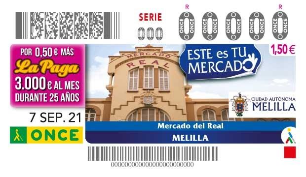 """Presentación cupón dedicado al """"Mercado del Real - Melilla"""""""