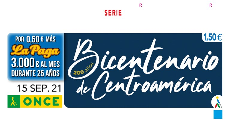 Presentación del Cupón dedicado al Bicentenario de la Independencia de Centroamérica